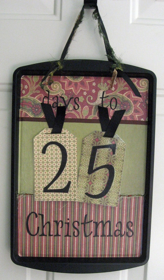 Christmas Countdown Magnet Board