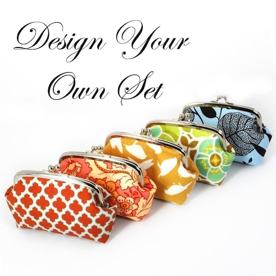 Design Your Own - 5 inch Frame Clutch Set