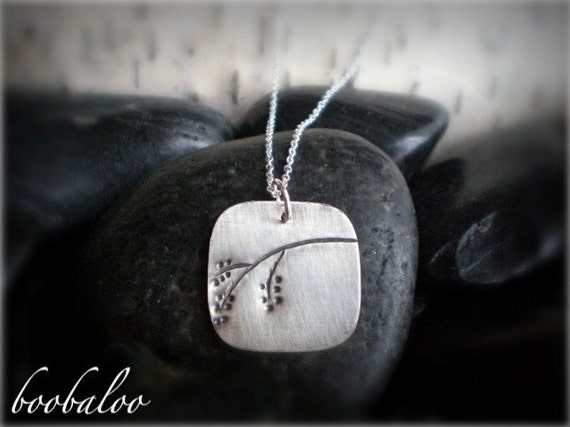 Willow Branch - Sterling Necklace