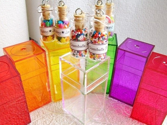 Gift Box / Acrylic Display Case for Starfirewire Candy Jar Earrings - Free Shipping w/ Jewelry  Purchase