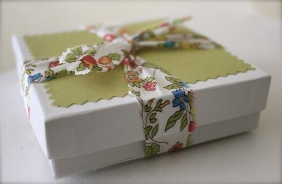 Fabric Wrapped Bracelets- Set of 3