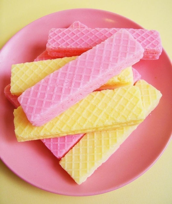 Strawberry Wafer Soap Set