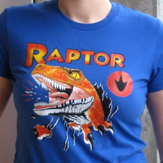 Women's Large Raptor T-shirt from Ghost World