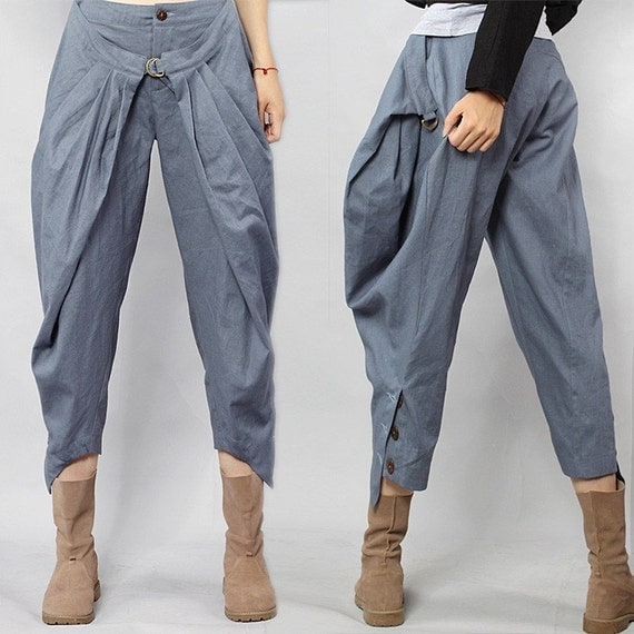 cotton linen pants 201