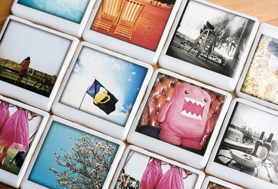Polaroid Coaster - Stacked up chairs