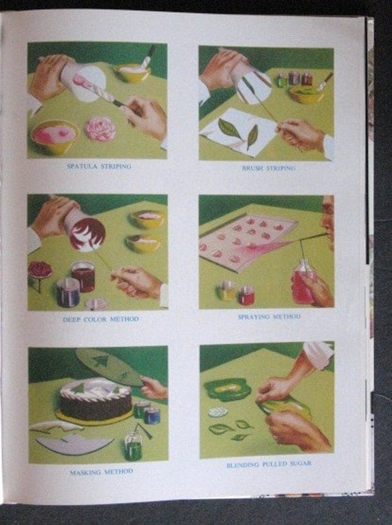 1954 Modern Cake Decorating Book