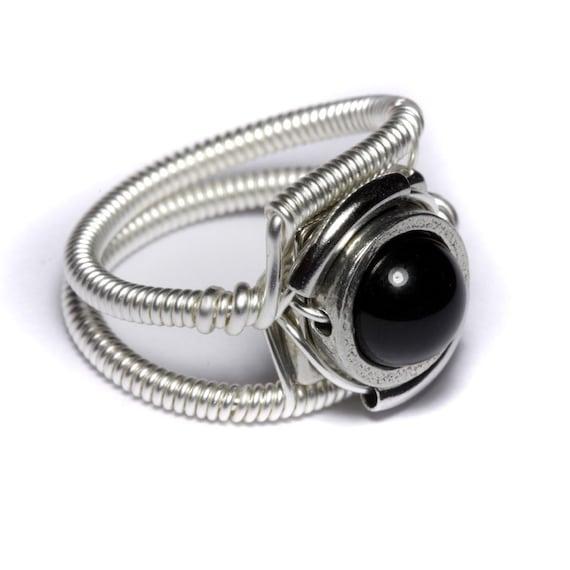 Cyberpunk Jewelry - Ring - Black Onyx