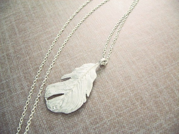 Whisper Silver feather