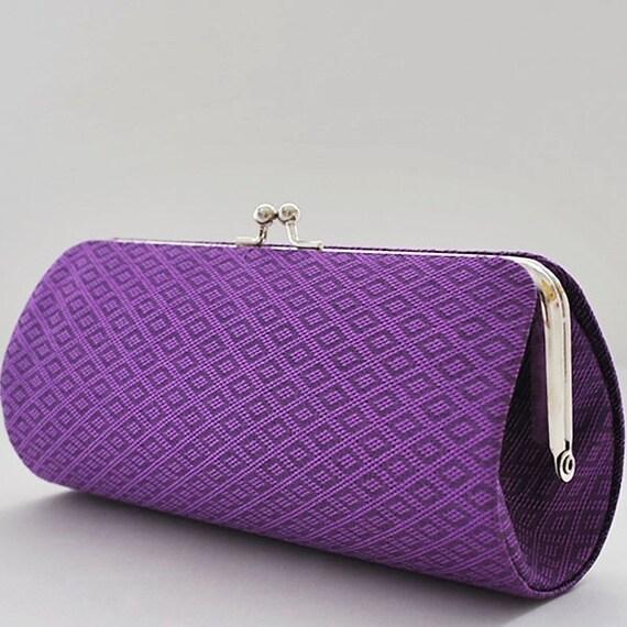 Pattern Silk in Purple