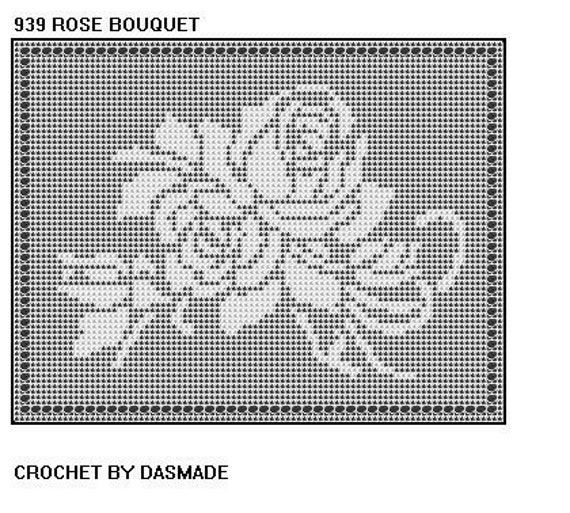 Filet Crochet Patterns - Cross Stitch, Needlepoint, Rubber Stamps