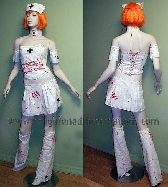 Zombie Nurse Costume - VERY SEXY