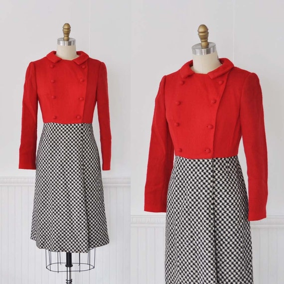 Vintage 60s Lanz COLLEGIATE Dress