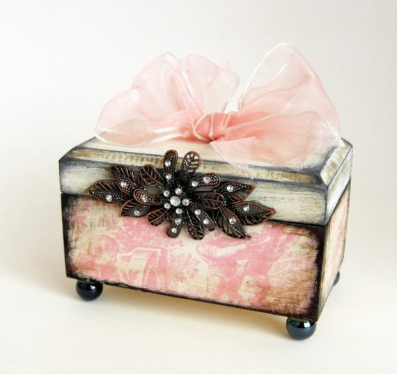 Romantic Pink Trinket Box