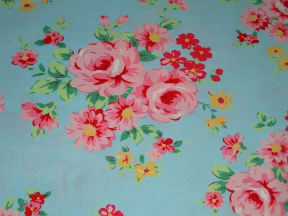 9927 L Flower Sugar Fabric by Lecien 1 Yard