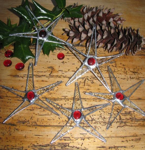 5 Cranberry Christmas Stars