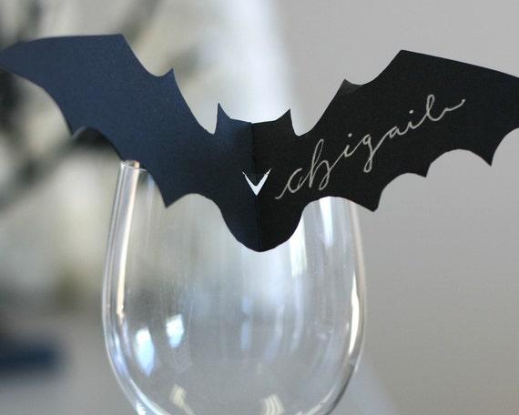 Bat Place Cards - set of 12