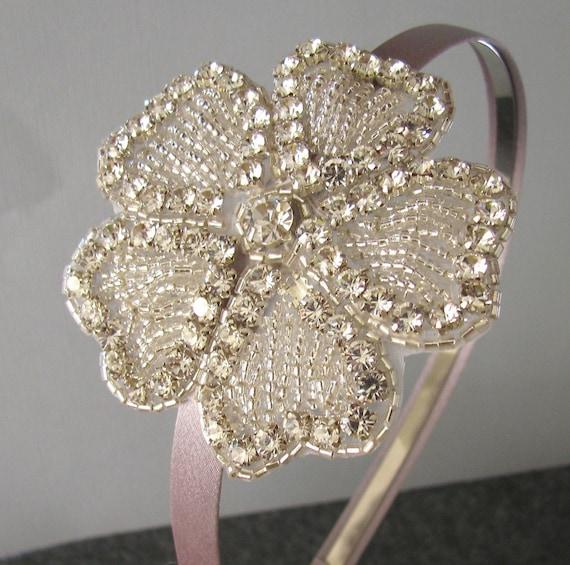 CLOVER - Swarovski Crystal Rhinestone Bridal Headband