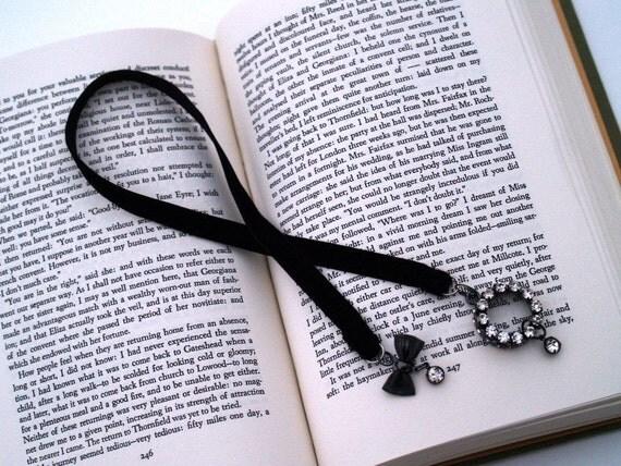 Velvet Bling Bookmark