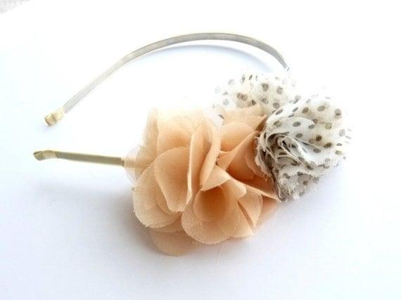 Pastel Blooms - Romantic - Bohemian Headband