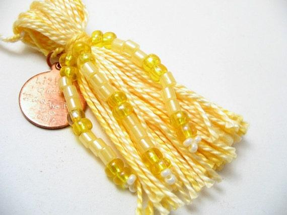 Custom Beaded Tassel Sample