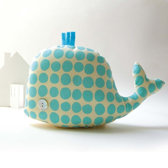 Olindo tha whale - Handmade in Italy