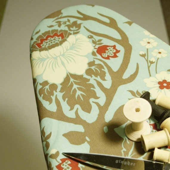 Ironing Board Cover made with Joel Dewberry Deer Valley fabric