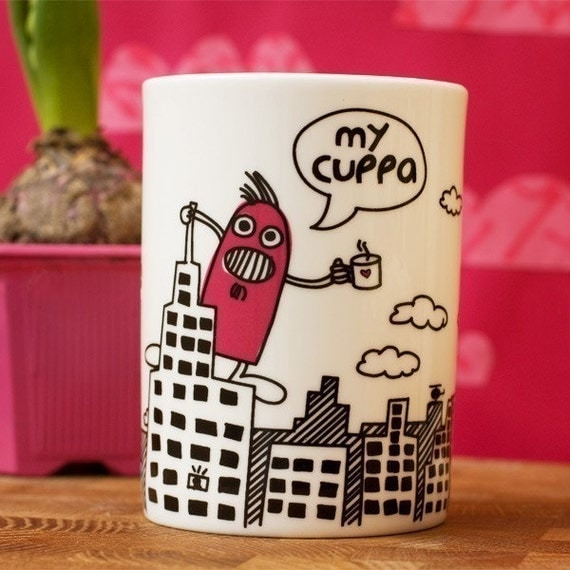Monster in Manhattan 'My Cuppa' Mug