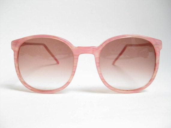 Vintage 80s WAYFARER Pink COLORS IN OPTICS ANNIE HALL SUNGLASSES/ FRAMES