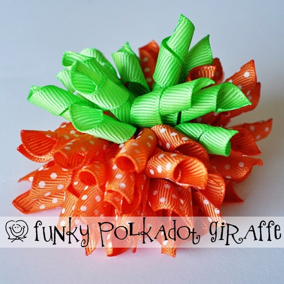 Little Pumpkin Korker Bow