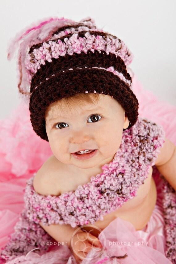 پی دی اف شاهزاده خانم کوچولو کلاه مد و شال گردن قلاب دوزی تنظیم الگوی Props عکاسی