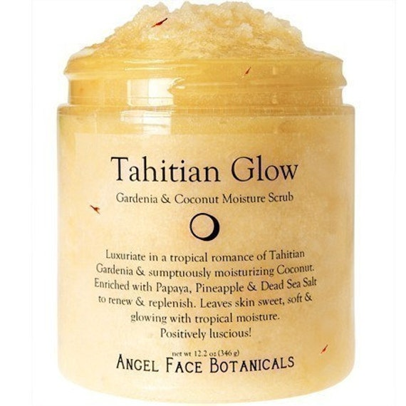 Tahitian Glow - Coconut and Gardenia Moisture Scrub - 2 oz Travel Size