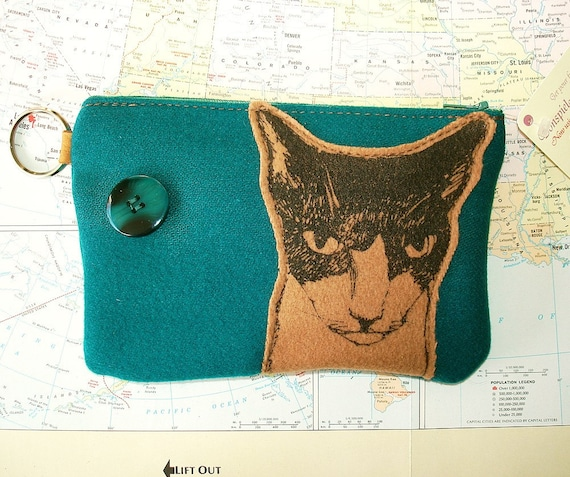 Wool Kitty Pouch