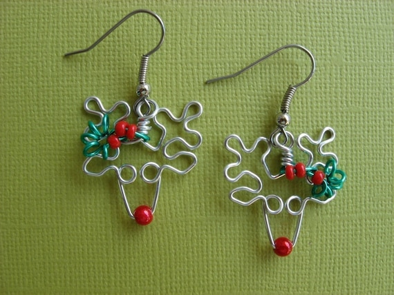 Mr. Rudolph reindeer earrings