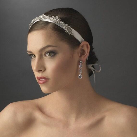 bandeau Emerald by EmeraldDiamond headband headpiece wedding jewelry