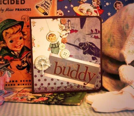 Vintage Little Buddy Card