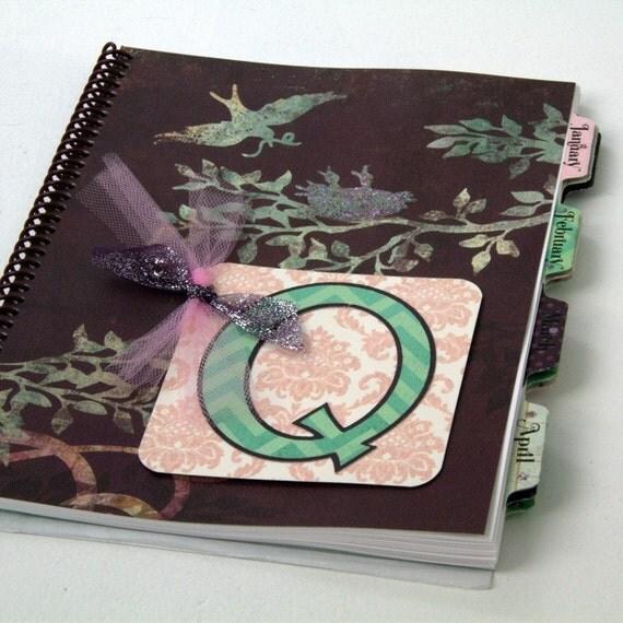 QUINN Design - Medium Personalized Planner