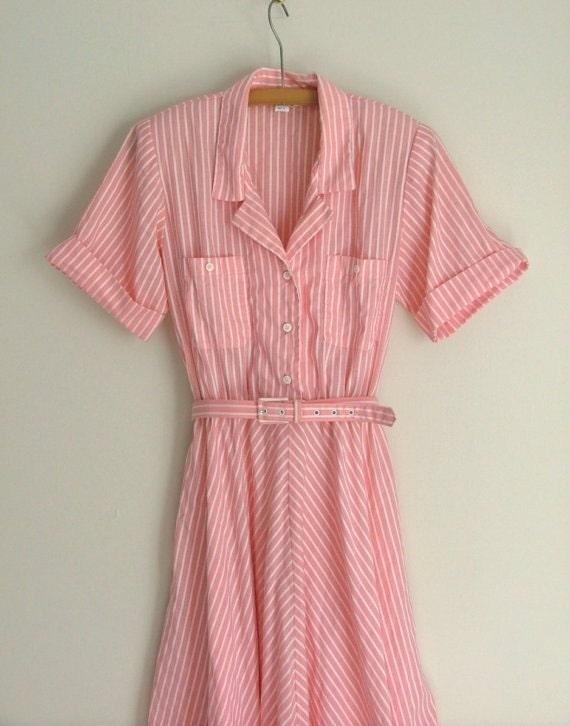 Sweet Candy Stripe Dress - S/M
