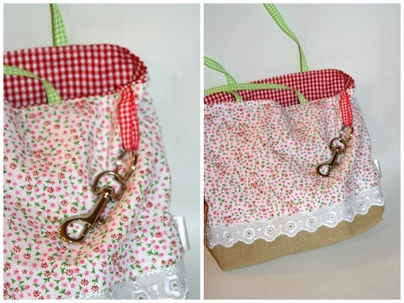 Perfect Best Girl friend gift set Sweet tote bag lovely reversible apron and eco bag