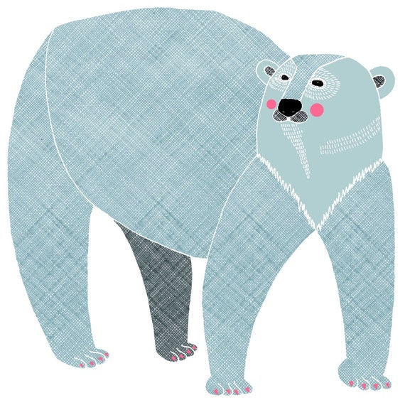 Fine Art Print 11x16 Polar Bear
