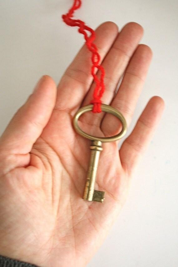 italian vintage key No.53