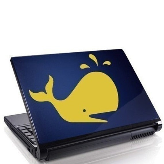 Cute Whale Vinyl Decal Sticker Animal