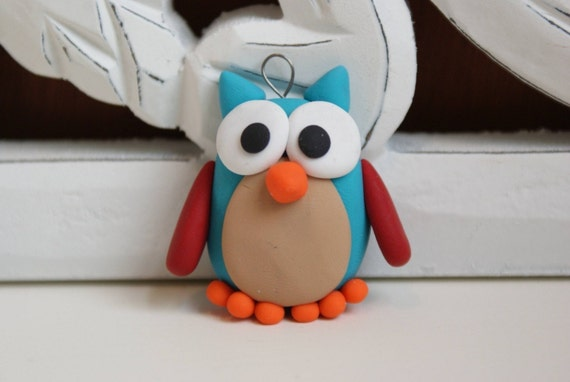 Fredrick the Owl Ornament
