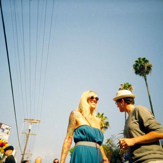 CYBER MONDAY - Los Angeles Size - 16x16 Original Lomo Art Photograph