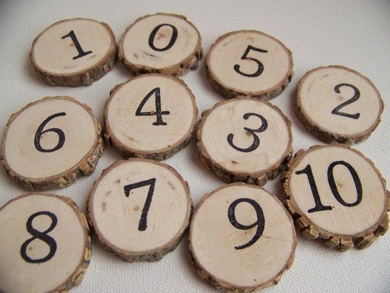 Wood Tree Money Number Coins