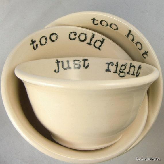 goldilocks bowl set large