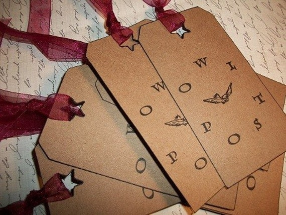 Owl Post Gift Tags