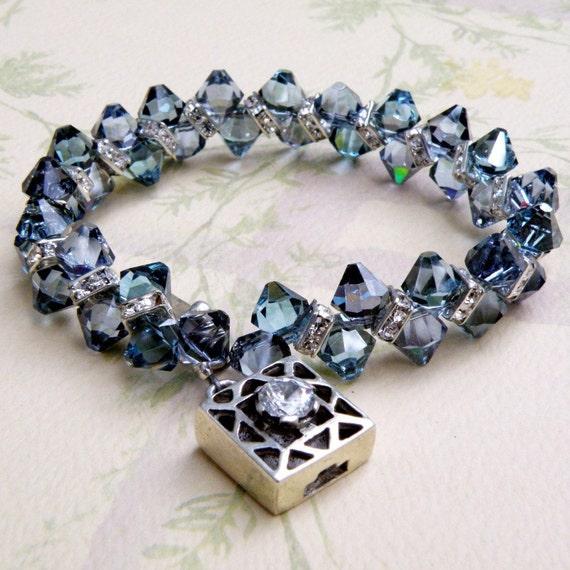 sapphire crystal bracelet