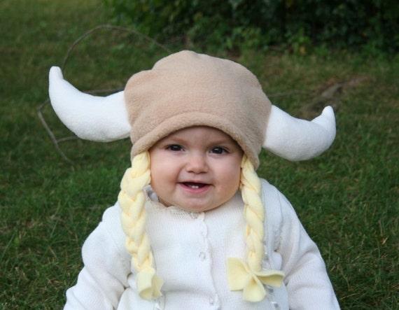 Viking Baby Hairdo Hat