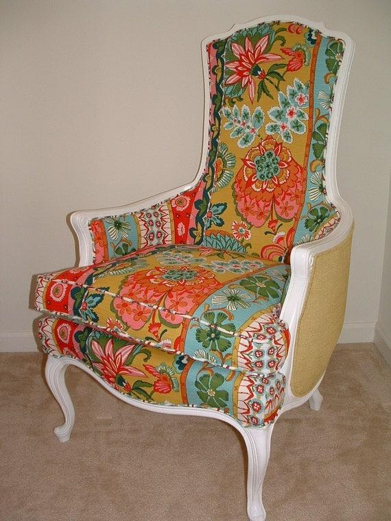 Vibrant Vintage Chair