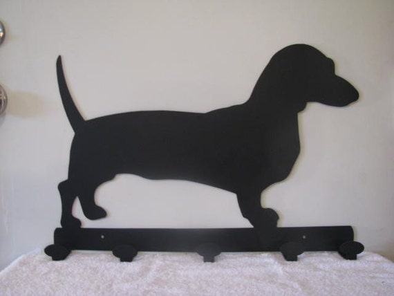 dachshund coat rack
